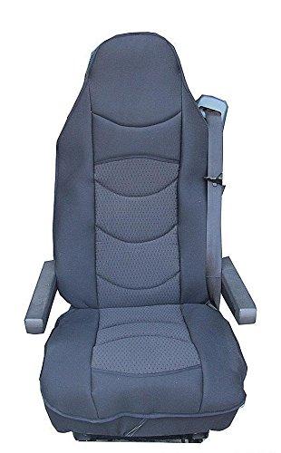 Sitzauflage Lkw Sitz Sitzbezug Bezug Sitzschoner Schwarz Polyester Neu Baby