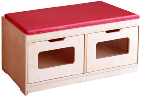 A+ Childsupply 2 Drawers Bench Storage Unit A + Child Supply F8049