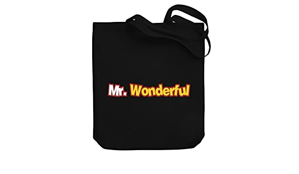 Teeburon Mr Wonderful Bolsa de Lona: Amazon.es: Equipaje