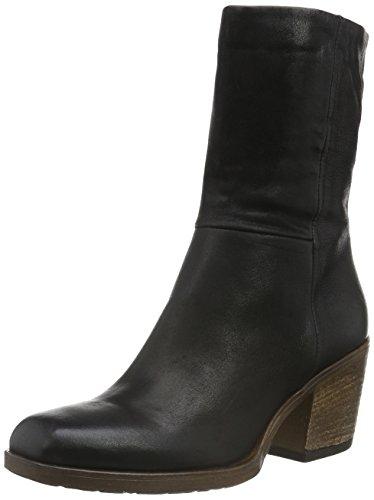 Mjus 687208-0401-6002, Zapatillas de Estar por Casa para Mujer Negro - negro