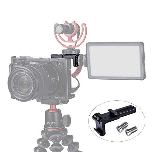 میکروفن / کفش بسته شده پرش نور ، UURig R021 کفش سرد ، URIig R021 لوازم جانبی قفس دوربین فیلمبرداری A6400 A6600 A6500 A6100