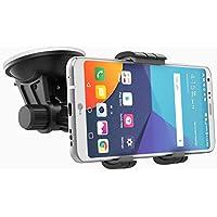 LG G6 Car Mount Holder (easy dock) Windshield / Dashboard Compatible (By Encased) (LG G6 Car Mount)