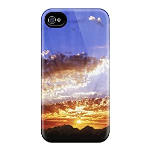 New Fashionable Casecover88 ReE18393LBhZ Covers Cases Specially Made For Iphone 6(sunbeams)