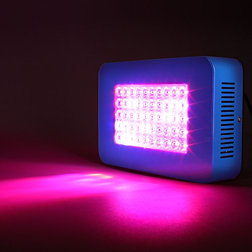 41zw1v3XpdL - Sandalwood LED Grow Light for Hydroponic Garden and Greenhouse Use Dual Grow Bloom Spectrum