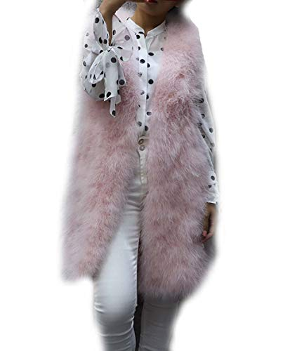 donna chiaro da Dtldwn maniche rosa Gilet senza 1TwqIY8
