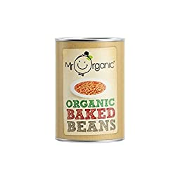 Mr Organic Baked Beans (400g) - Pack of 6