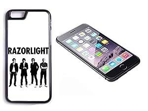 iPhone 6 Black Plastic Hard Case with High Gloss Printed Insert Razorlight