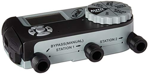 Orbit 56233D 3-Outlet Digital Watering Timer (1 Manual/2 Digital) (Renewed)