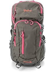 Thrive! Sports 3 Liter Hydration Backpack Perfect For Hiking, Biking, Climbing, and Hunting. Comfort Suspension...
