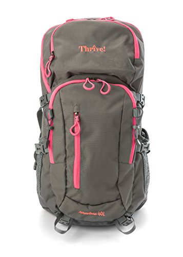 Childrens Climbing Frames (Thrive! Waterproof Washable Backpack comes with 3L easy-clean water bladder, highly breathable suspension frame, and rain cover: Hiking, Biking, Climbing, Mountaineering, Daypack, Women & Girls)