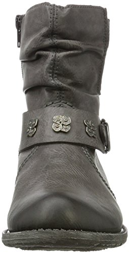 Women's Ankle Rieker Boots Grey 45 Fumo 74798 dExqx6w1