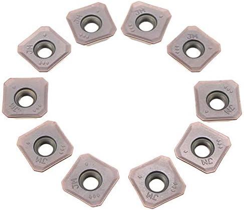PIKA PIKA QIO 10Pcs CNC Klinge Coated Carbide Insert-Fräser SEMT13T3AGSN-JM VP15TF Drehwerkzeuge