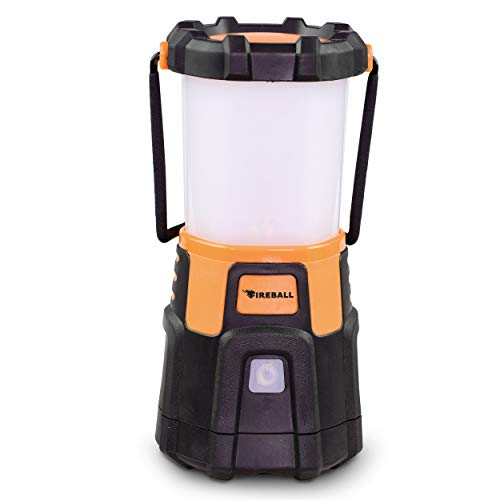 Blazin' Fireball | Brightest Lanterns Battery Powered | LED Hurricane Lantern | Emergency, Storm, Camping Torch | Battery Operated Lights | 1000 Lumen Lantern -