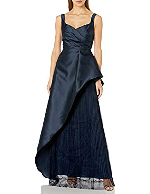 Adrianna Papell Women's Mikado Long Dress