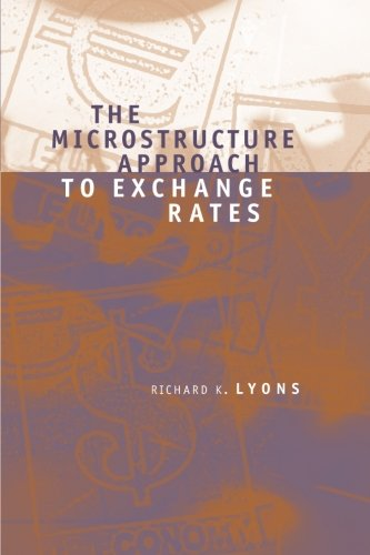 The Microstructure Approach To Exchange Rates  Mit Press