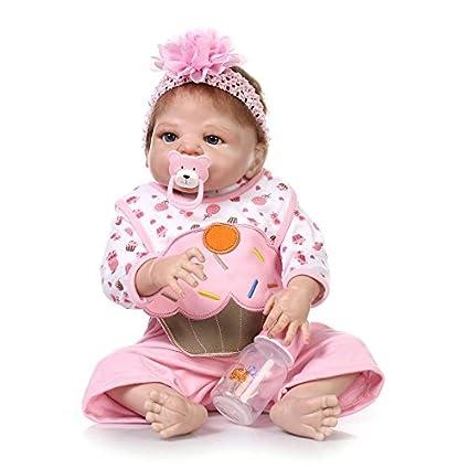 ff17ea27893 Amazon.com  NPK HerIn Reborn Baby Doll Silicone Full Body
