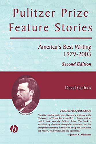 Pulitzer Prize Feature Stories 2e