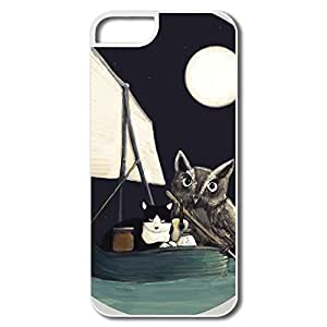Keke Custom Funny Shell The Owl And The Pussycat For IPhone 5/5s