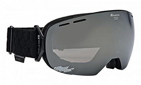 Amazoncom Alpina Granby MM Adults Ski Goggles Black Black Matt - Alpina goggles