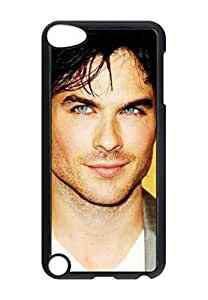 Ian Somerhalder Customized design personalized unique hard plastic Case Cover for Ipod Touch 5 Case Cover, Protection Perfect fit for ipod 5th phone case