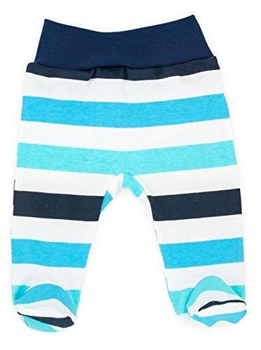Baby-Mode Jungen Hose mit Fuß -Kollektion Classic 08116- (62)