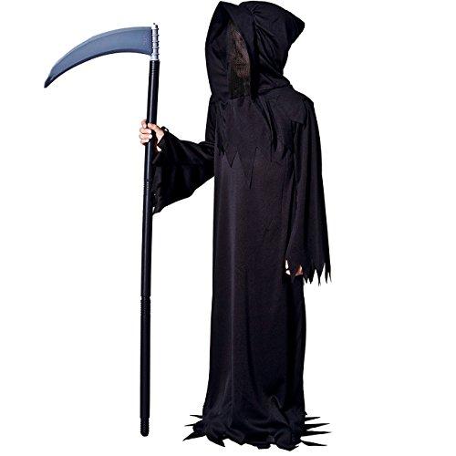 DSplay Kids Dead Devil Halloween Costume (4-6Y) Black ()
