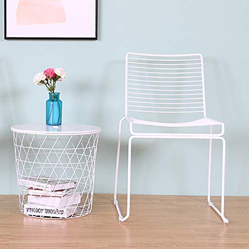 HomVent Chairs,2 PCS Wire Chairs Metal Stool Wire Frame Bar Height Barstool Wire Counter Stool Lounge Chair for Dining Room Kitchen or Outdoor