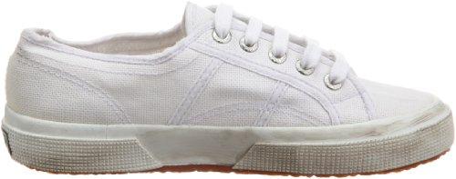 White Wash Unisex Superga Stone 2750 Sneaker Weiß Cotu vqtfwWBf40
