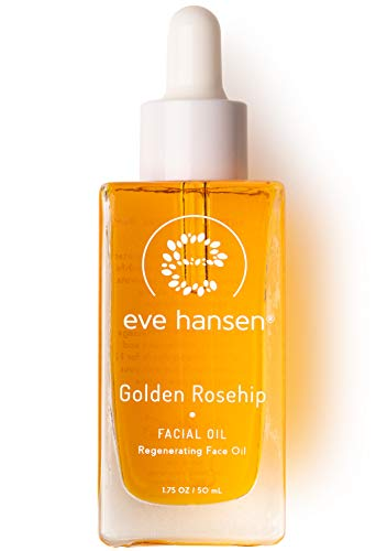 Anti Aging Face Oil Blend by Eve Hansen - Regenerating Infusion of Rosehip Oil, Vitamin E Oil, and Rosemary Extract - Hydrating Skin Oil for Scar Treatment and Dry Skin Repair - 1.7 Oz