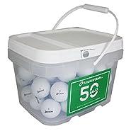 50 Srixon Mix Bucket Near Mint Aaaa Used Golf Balls