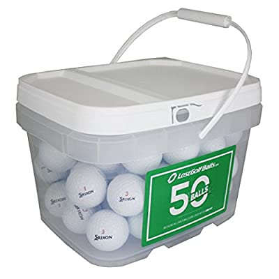50 Srixon Mix Bucket Near Mint Aaaa Used Golf Balls