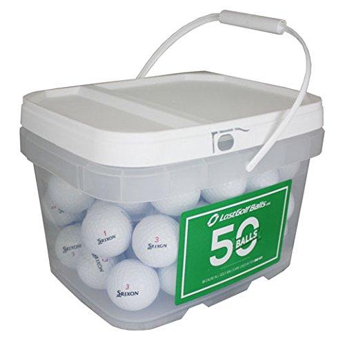 50 SRIXON MIX BUCKET NEAR MINT AAAA USED GOLF BALLS (Best Discount Golf Equipment Websites)