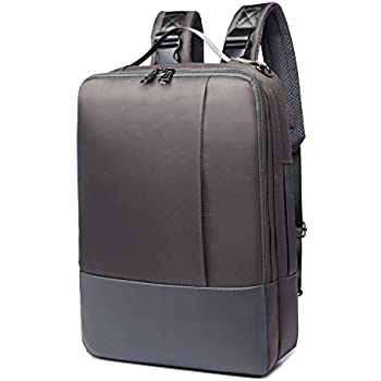 Amazon.com: Riavika 3-Way Convertible Laptop Backpack Briefcase ...