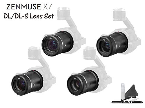 DJI Zenmuse X7 DL|DL-S Lens Set for X7 Super 35 Cinema Camera