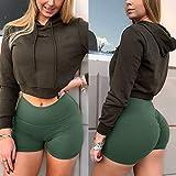 YOFIT Women Yoga Shorts Ruched Butt Sport Gym Push