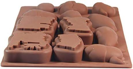 Cubitos de hielo de chocolate de silicona antiadherente de grado ...