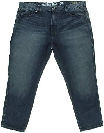 Nautica Men's Tapered Fit Carpenter Jeans