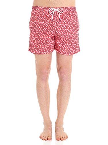 Fedeli Men's 1Ue00318b051832 Red Polyester Trunks by Fedeli