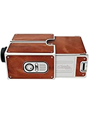 Varadyle Cinema Projector,Portable Cardboard SmartPhone Projector for Family/Party/Birthday Etc.Home Theater Audio Projector