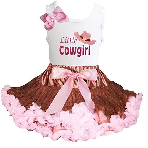 Kirei Sui Brown Light Pink Fluffy Tutu &