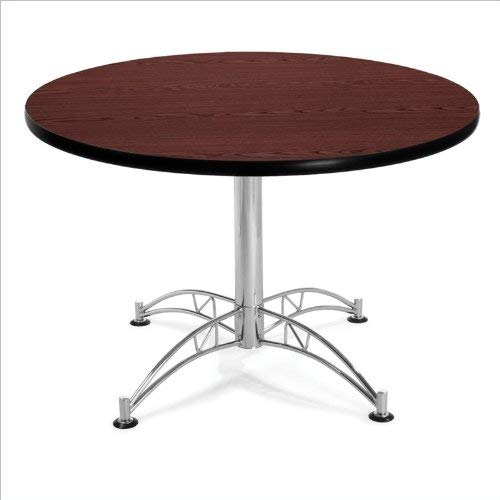 OFM KLT42RD-MHGY Round Multi-Purpose Table, 42'', Mahogany by OFM