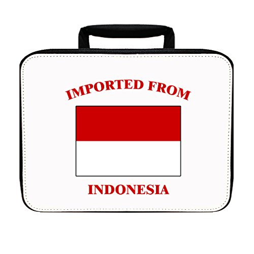 Imported From Indonesia Indonesian Insulated Lunch Box Bag by Style in Print