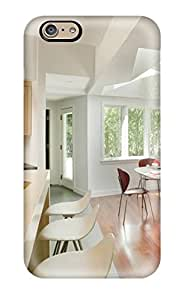 For Kyle Spaulding Iphone Protective Case, High Quality For Iphone 6 Sunny Contemporary Breakfast Nook Lit By Skylights Skin Case Cover