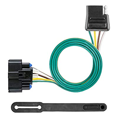 CURT 56394 Vehicle-Side Custom 4-Pin Trailer Wiring Harness for Select Chevrolet Traverse: Automotive