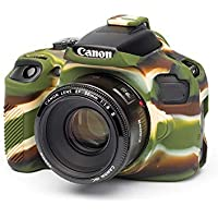 STELA EasyCover Silicone Protective Camera Case for Canon 1500D (Camouflage)