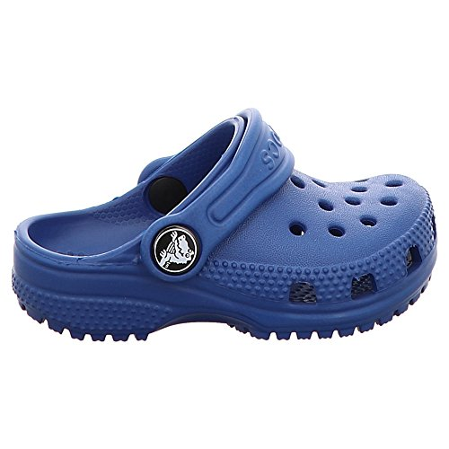 crocs Unisex-Kinder Classic Clog Kids Blau