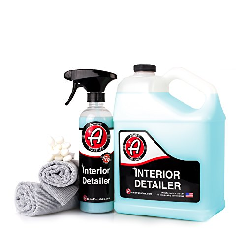Adam's Interior Detailer – Clean and Dress Interior Surfaces in One Easy Step – Odor Neutralizers Kill Unwanted Odors – Anti-Static Formulation Adds UV Protection to Your Entire Interior (Collection)