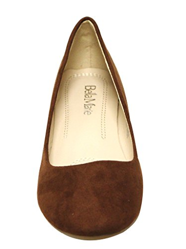 On Marie Bella Shoes Stacy Round Women's Toe 12 Slip Chest Flat Ballet Ad0wRdq