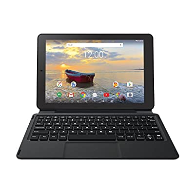 New RCA Viking Pro Edition 10.1 Touchscreen 2 In 1 Tablet, Detachable Keyboard, Quad-Core Processor,32G storage, IPS 1280 x 800 Display (Android 6.0)