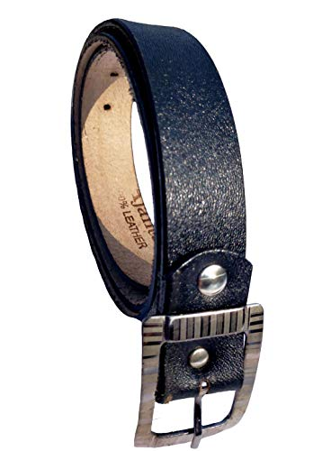Forever99 Boy's Casual & Formal Leather Brown Black Belt Free Size Up to 6 year 26 Inch